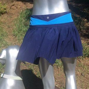 Lululemon Time to Shine Pleated Skirt/Skort
